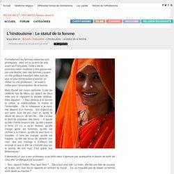 L'hindouisme : Le statut de la femme
