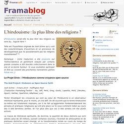 L'hindouisme : la plus libre des religions ?