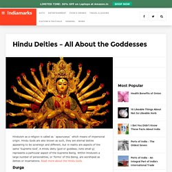 Hindu Deities - All About the Goddesses