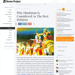 Hinduism: The Best Religion in the World