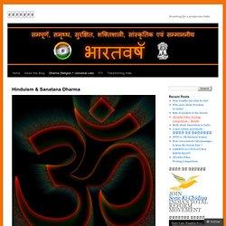 Hinduism & Sanatana Dharma