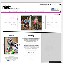 Hint Fashion Magazine