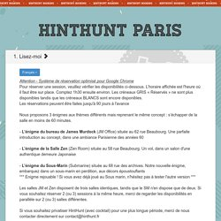 HintHunt Paris