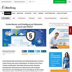 Cookie Hinweis: Benötigt jede Webseite einen Cookie Hinweis?