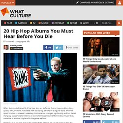 20 Hip Hop Albums You Must Hear Before You Die - Page 15