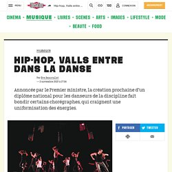 Hip-hop, Valls entre dansla danse