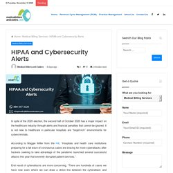 HIPAA and Cybersecurity Alerts
