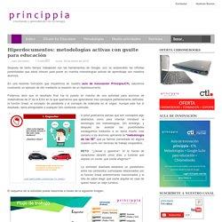 Hiperdocumentos: metodologías activas con gsuite para educación