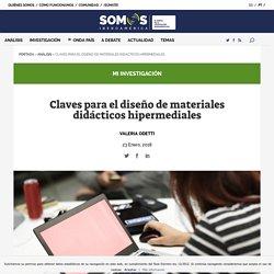 Claves para el diseño de materiales didácticos hipermediales - Somos Iberoamérica / Somos Ibero-América