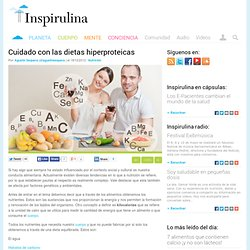 Cuidado con las dietas hiperproteicas