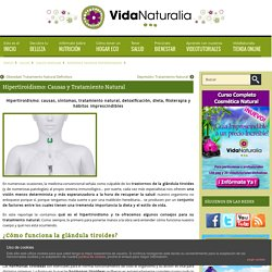 Hipertiroidismo: Causas y Tratamiento Natural
