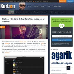 HipHop - Un clone de PopCorn Time mais pour la musique