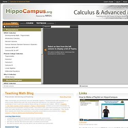 Calculus & Advanced Math - Homework and Study Help - Free help with your Calculus & Advanced Math homework