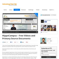 HippoCampus - Free Videos and Primary Source Documents