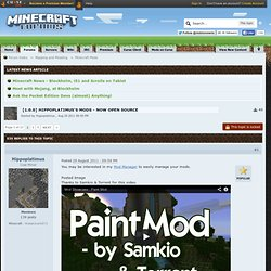 7.3] Hippoplatimus's Mods - Paint Mod (now with ModLoader!)