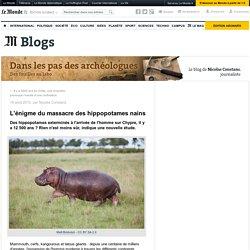 L'énigme du massacre des hippopotames nains