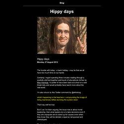 Hippy days