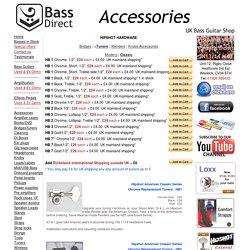 Basses and Guitars Accessories at Bass Direct: UK EU USA