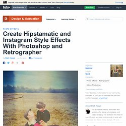Hipstamatic and Instagram Style Effects With Photoshop