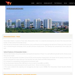 Properties in Hiranandani Estate Thane