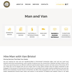 Hire Man with Van Bristol