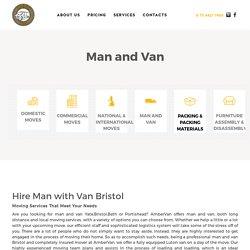 Hire Man with Van Bristol