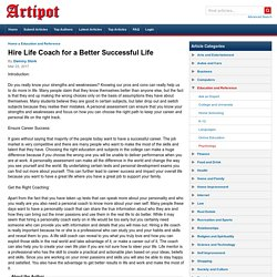 Hire Life Coach for a Better Successful Life