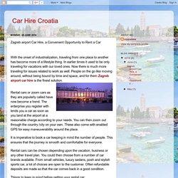 Hire a Car and Explore the Beauty of Croatia
