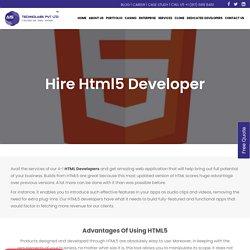 Hire HTML5 Developer India - Hire HTML5 Game Developer