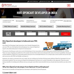 Hire OpenCart developer in India ™
