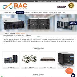 Hire Storage Device in Pune