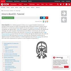 Hiren's BootCD : Tutoriel