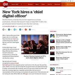 New York hires a 'chief digital officer'