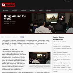 Hiring Around the World