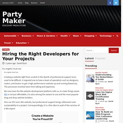 Hiring the Right Wix website designer for Your Projects