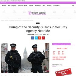 Hiring of the Security Guards in Security Agency Near Me - Woman