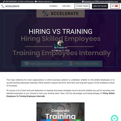 Hiring Vs Training