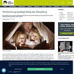 Hirnforschung bestätigt Erfolg des Storytelling