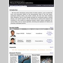 Hirose and Fukushima Laboratory