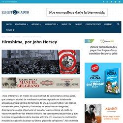 Hiroshima, por John Hersey