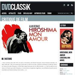 Hiroshima, mon amour de Alain Resnais (1959) - Analyse et critique du film