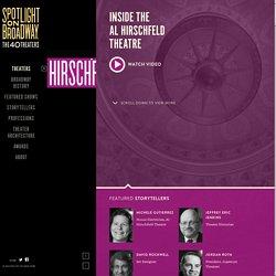 Inside the Al Hirschfeld Theater