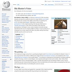 His Master's Voice - Wikipedia