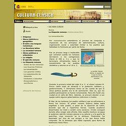 La Hispania romana - Roma - Cultura Clásica 3º