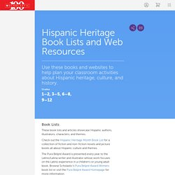Hispanic Heritage Book Lists and Web Resources