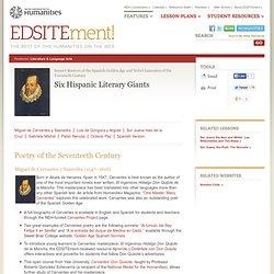 Six Hispanic Literary Giants