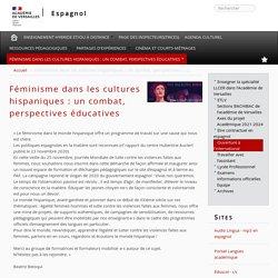 Féminisme dans les cultures hispaniques : un combat, perspectives éducatives