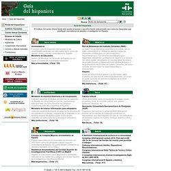 Instituto Cervantes - Guía del Hispanista