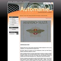 Hispano-Suiza Story - Automanie