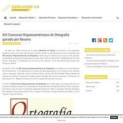 XIII Concurso Hispanoaméricano de Ortografía ganado por Navarra